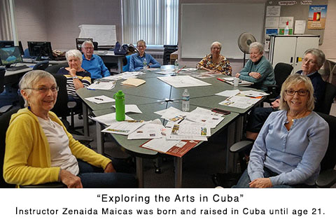 Class - Exploring the Arts in Cuba